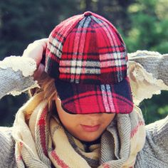 The Fireside Plaid Hat