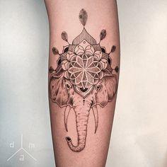 tattoo tatuagem daniel matsumoto elefante