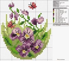Ideas Embroidery Heart Love Needlework For 2019 Mini Cross Stitch, Cross Stitch Cards, Cross Stitch Flowers, Cross Stitching, Embroidery Hearts, Cross Stitch Embroidery, Embroidery Patterns, Hand Embroidery, Cross Stitch Designs