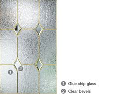 Fiber-Classic & Smooth-Star Deco Glass   Therma-Tru