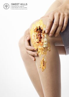 Shocking Pics Show The Dangerous Side Of SugarIn order to raise awareness about the dangers that sugar poses to our health, The Diabetes Association of Thailand commissioned Thai designer Nattakong Jaengsem to come up with a campaign that would encourag…