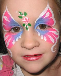 Vlinder schmink vlinder schmink make up en schmink for Face painting business