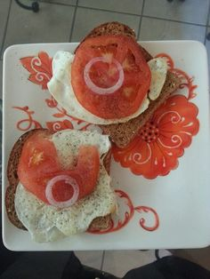 Breakfast by Fast Metabolism Diet...use ezekiel sprouted grain bread with egg whites in phase 1 or a whole egg in phase 3
