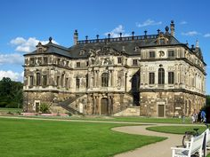 Dresden Castle;  the original castle was built around 1200, with later additions;  for almost 400 years, it was the residence of the electors (1547–1806) and kings (1806–1918) of Saxony;  it is currently a museum complex;  photo by Harry - [ The Travel ]- Marmot, via Flickr