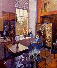 Women Reading - thomerama: Ken Howard