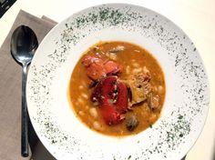 Alubias con bogavante y almejas - El Aderezo - Blog de Cocina