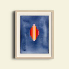 Pillars in Deep Blue is a premium quality giclee print on archival paper. A fine art print of an original painting / design made with ink and gouache. Framed Art Prints, Fine Art Prints, Paint Designs, Deep Blue, Gouache, Giclee Print, Original Paintings, Ink, Abstract