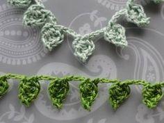 Green leafy crochet braids ༺✿ƬⱤღ✿༻