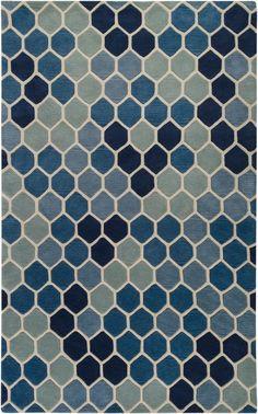 Paule Marrot honeycomb rug