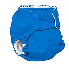 Lazy Lime Color One Size Rumparooz cloth diaper cover Aplix