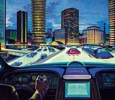 Drive into the future. (© PoodlesRock/Corbis)