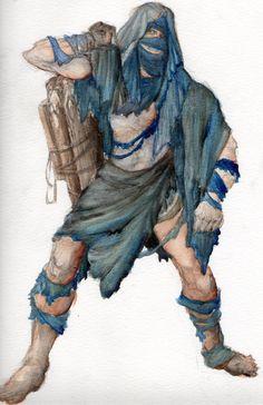 Caliban-Costume rendering by ScottAronow.deviantart.com on @deviantART