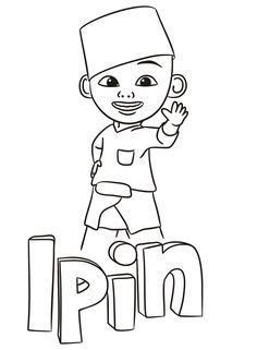 32 Gambar Kartun Upin Dan Ipin Hitam Putih Upin Ipin Coloring Pages Download 50 Gambar Kartun Lucu Imut Dan Menggemaskan Terba Di 2020 Buku Mewarnai Kartun Gambar