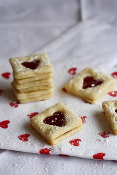 Lemon, Strawberry and Sour Cream Cookies