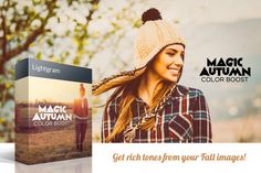 20 Autumn Lightroom Presets by @Graphicsauthor