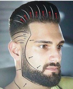 Hair Style Men Men's Vintage Hairstyle Instruction  Barber Stuff  Pinterest