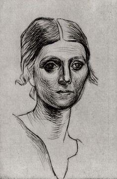 Pablo Picasso: Olga Picasso, 1920