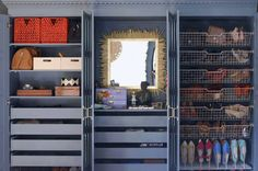 Personalizing ikea wardrobe furniture- clothes and jewelry organization, painting furniture, DIY