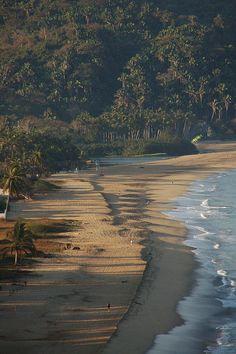 """Early Morning View, by snikrap, via Flickr - San Pancho, Nayarit, Mexico- Como alguien me dijo una vez """" un lugar lleno de colores y olores"""", algun dia o algun vida quien sabe...."""