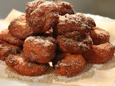 Sweet Potato Fritters Recipe : Claire Robinson : Food Network - FoodNetwork.com