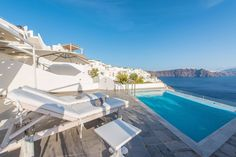 Spend your vacation basking in the sun at Santorini Secret Suites and Spa