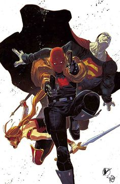 Red Hood & The Outlaws by Matteo Scalera