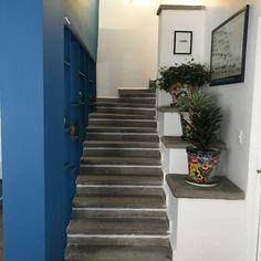 Pequeños detalles como plantas, sillones y lamparas de pie que dar un toque mas vivo a tu espacio Stairs, Home Decor, Ocean Room, Standing Lamps, Couches, Offices, Space, Plants, Projects