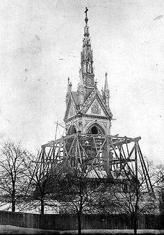 Albert Memorial, Kensington Gardens, London c 1870