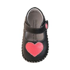 Love a clasic black Mary Jane. Our super sweet 'Stella' shoe from Little Blue Lamb.  Beautiful Leather, gorgeous style. A beautiful addition to any little princesses wardrobe. Check out our full range of Soft soled pre walker / first walker over on our website thebusykidsshop.com/
