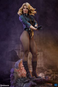 Black Canary Premium Format™ Figure by Sideshow Collectibles | Sideshow Collectibles