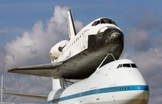 The space shuttle drops in for a visit pretty often here in Shreveport, La. because  our sister city is Bossier.  In Bossier there is a large Air Force Base that brings in all kinds of surprises.