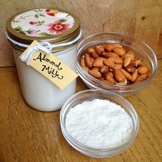 Live Right Be Healthy: Almond Milk and Almond Flour