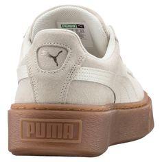 f4329cb71fd82 Baskets Puma Suede Platform Bubble Gris Femme - Taille   37 38 39
