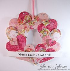 Children's Valentine Craft by notimetostamp - Cards and Paper Crafts at Splitcoaststampers