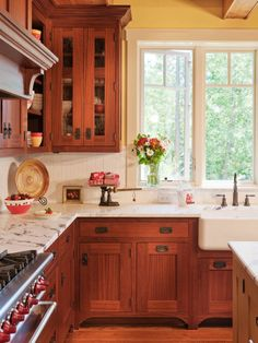 kitchen painting cabinets soapstone counters buttery walls a classic farmhouse 2401