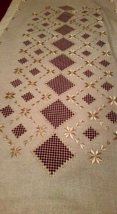 This Pin was discovered by Neş Hardanger Embroidery, Learn Embroidery, Free Machine Embroidery, Beaded Embroidery, Cross Stitch Embroidery, Hand Embroidery, Cross Stitch Patterns, Embroidery Designs, Thread Art