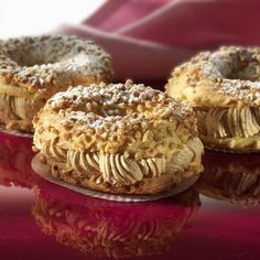 Cream praline with Thermomix - Creme Dessert Thermomix, Paris Brest, Choux Pastry, Cooking Chef, Cordon Bleu, Eat Dessert First, Mini Cakes, Eclairs, Snacks