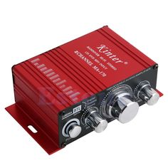MA170 2 channel 12V Hi-Fi Stereo Amplifier Booster For mp3 iPod Car Boat Radio