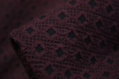 Burgundy Diamond Sky - Stretch - Tessuti Fabrics - Online Fabric Store - Cotton, Linen, Silk, Bridal & more