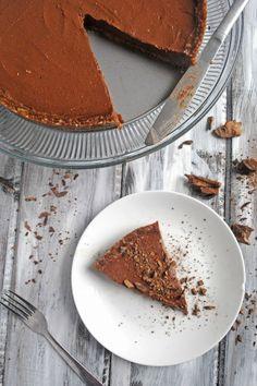 Vegan Chocolate Pudding Pie