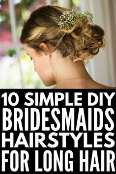 Every Girl Should Know These Hair Hacks! Down Hairstyles, Straight Hairstyles, Wedding Hairstyles, Updo Hairstyle, Curly Bridesmaid Hairstyles, Vintage Hairstyles, Easy Hairstyles, Sexy Makeup, Hair Makeup