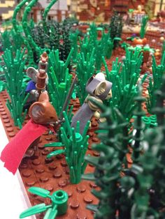 This image of a Mouse Guard-themed LEGO playset is amazing!