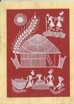 Design Decor & Disha: Indian Art: Warli Art (Maharashtra)