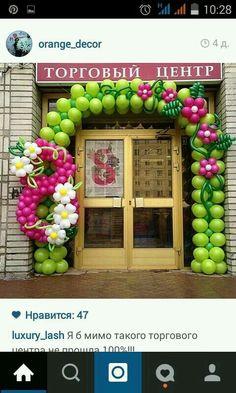 Arco 8 y flores