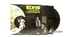 1973 Elvis Aloha from Hawaii via Satellite Vinyl LP 33 RCA R 213736 Rock  #FolkCountryRock