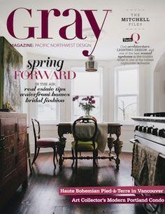 Gray Interior Design Magazine Home Decorating Shelter Architecture Lifestyle