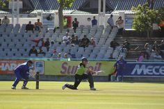 One Day Cricket game between the Cobras and the Warriors at Newlands.  Taken by Tim Dale Lace