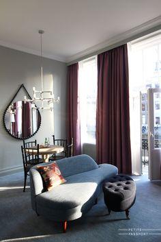 Vernieuwd interieur gecreëerd door interieur architect Jacu Strauss in Hotel/restaurant Pulitzer & Jansz in Amsterdam. Foto van PETITE PASSPORT