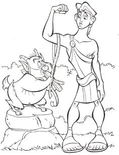 Hercules coloring pages - Google-søgning