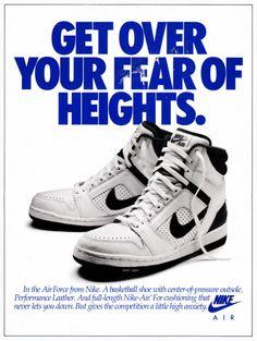 info for 58082 ee818 Even More Vintage Nike Ads. Nike Skor UtloppNike AdVintage NikeNike  BasketballAir JordansNike TennisTennisNätbollSneakers